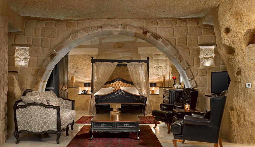 Seraphim Cave Hotel, Mustafapasa Image 15