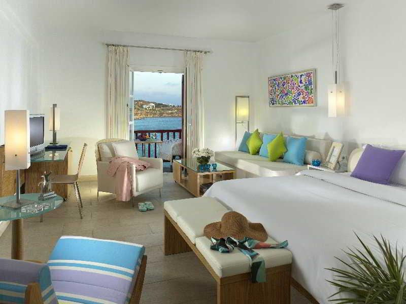 Petasos Beach Resort & Spa, Plati Yialos Beach, Mykonos Image 2