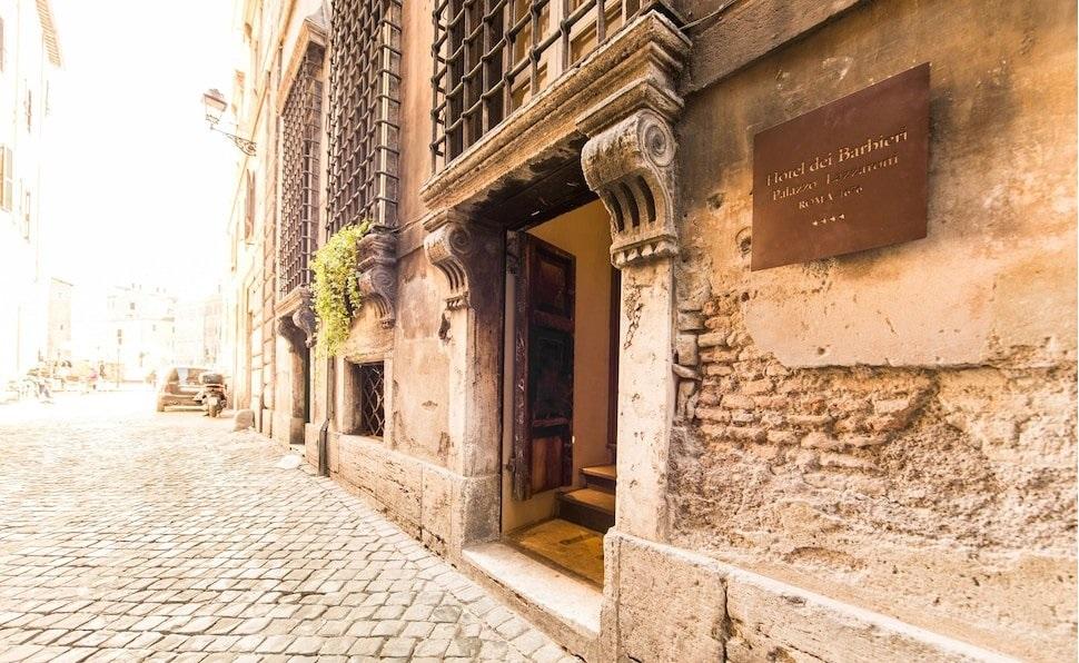 Hotel Dei Barbieri, Rome Image 0