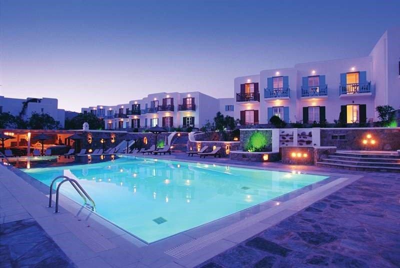 Petasos Beach Resort & Spa, Plati Yialos Beach, Mykonos Image 0